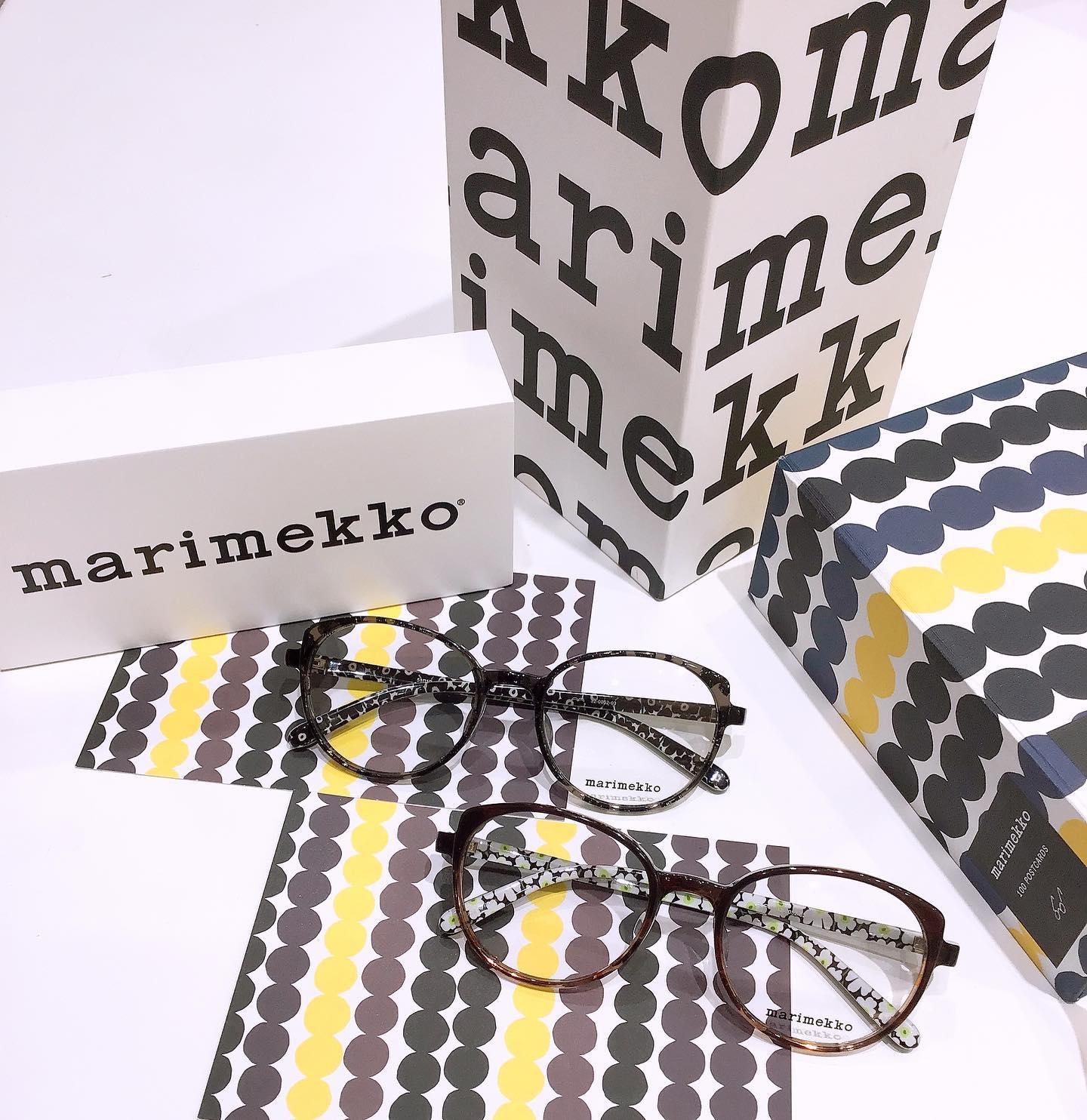 marimekko品番:32-0052カラー:2、3金額:27,000+taxレンズ付き価格フレームの形、カラーが綺麗ですテンプルの内側のウニッコ柄もオシャレサングラス🕶にしても可愛いフレームですよ😎#marimekko #マリメッコ #eyewear #眼鏡 #メガネ #めがね #サングラス #sunglasses #ウニッコ #長崎 #ココウォーク #福岡 #リバーウォーク北九州 #神奈川 #ららぽーと湘南平塚