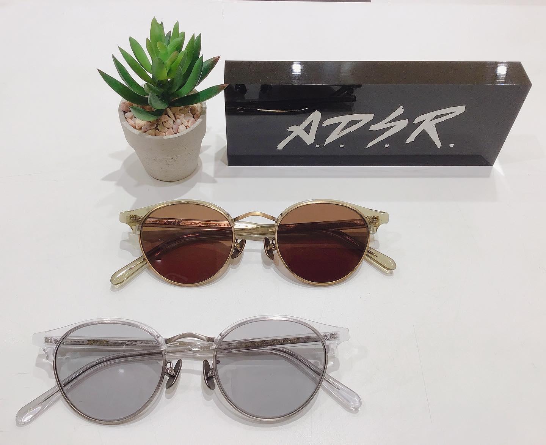 A.D.S.RMUTE ミュートクリアのブローがオシャレです#adsr #sunglasses #サングラス #eyewear #入荷 #長崎 #ココウォーク #福岡 #リバーウォーク北九州 #神奈川 #ららぽーと湘南平塚