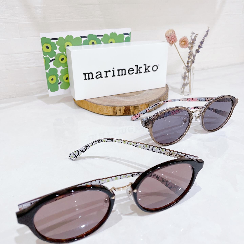 marimekkoマリメッコサングラス品番:33-0028 カラー:02.03新作入荷しました︎柄は内側だけなので、いろんなファッションに合わせやすいです#marimekko #マリメッコ #ウニッコ #眼鏡 #メガネ #めがね #サングラス #sunglasses #アイウェア #eyewear #長崎 #ココウォーク #福岡 #リバーウォーク北九州 #神奈川 #ららぽーと湘南平塚