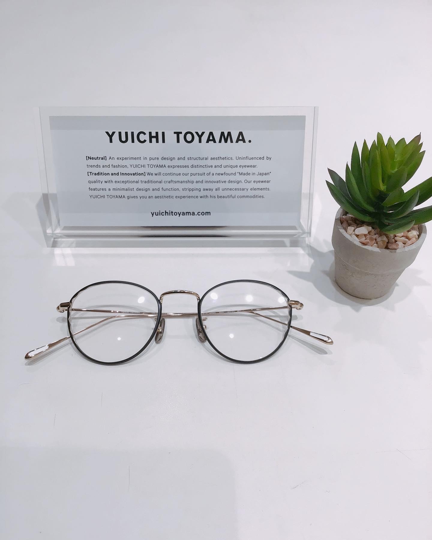 YUICHI TOYAMAユウイチトヤマPic1&2品番:U−117カラ:01当店で人気のCookieコレクションに新型が登場しました️クッキーをイメージしたフレームです3つのデザインで、どれもかけやすいですよ#yuichitoyama #ユウイチトヤマ #cookie #クッキー #eyewear #アイウェア #眼鏡 #メガネ #めがね #長崎 #ココウォーク #福岡 #リバーウォーク北九州 #神奈川 #ららぽーと湘南平塚